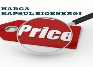 Harga Kapsul Bioenergi
